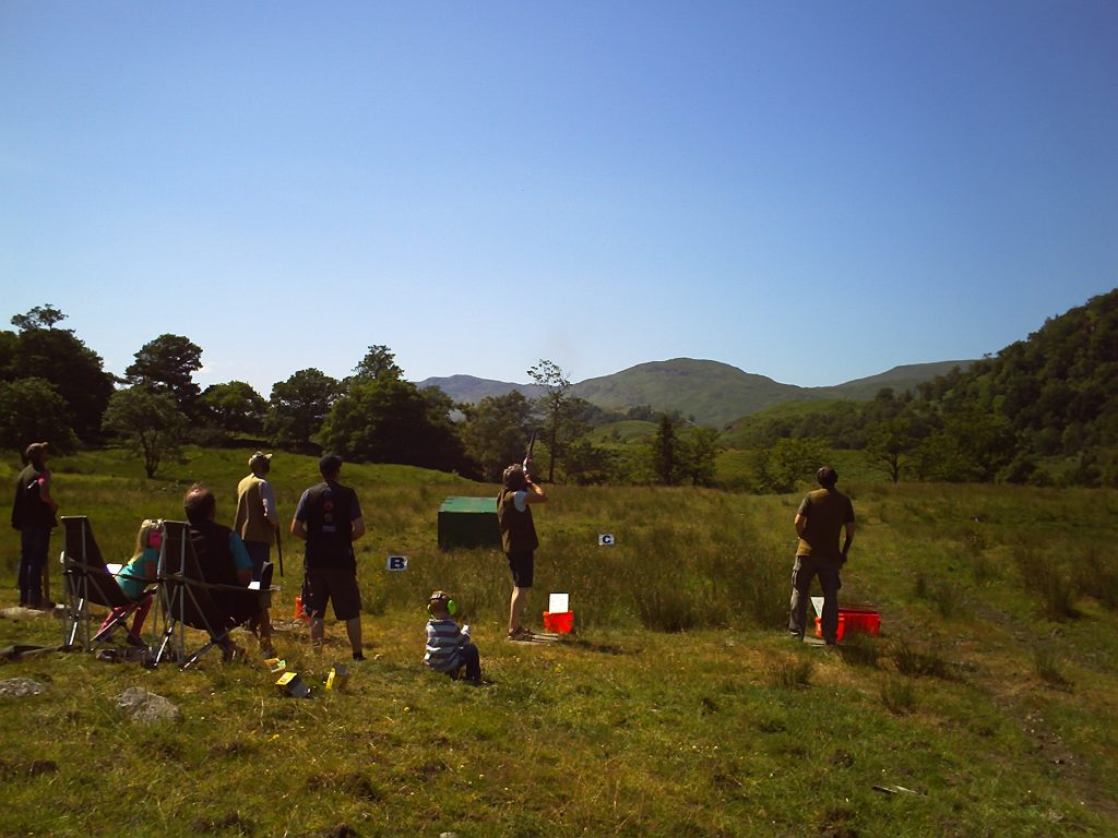 Field shooting ground